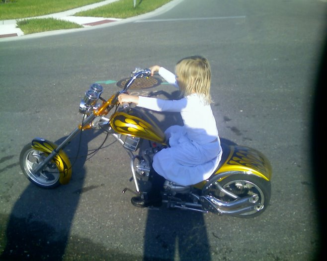 jocelyn thinks she's a biker
