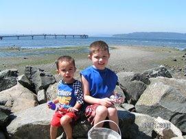 Garrett and Colton