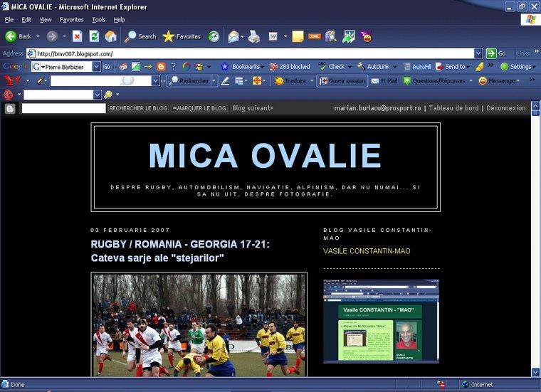 MICA OVALIE