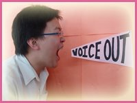 Voice out!