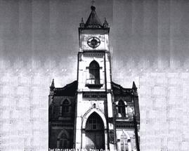 A primeira igreja de Inconfidentes.