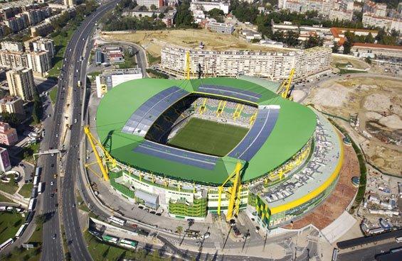 Visão topo Estadio