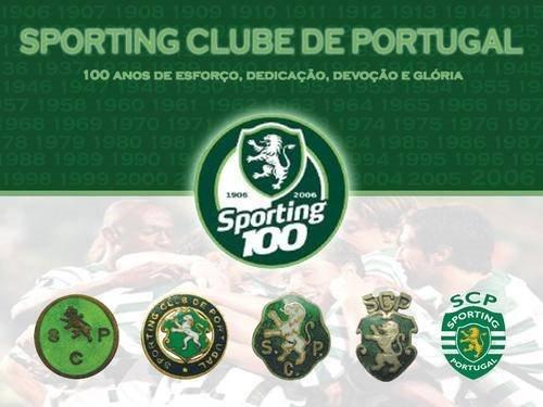 Simbolo Sporting evoluão