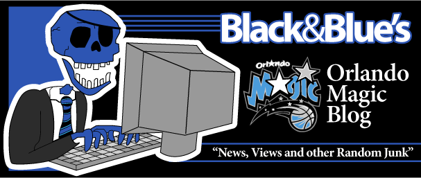 Black and Blue&#39;s Orlando Magic Blog