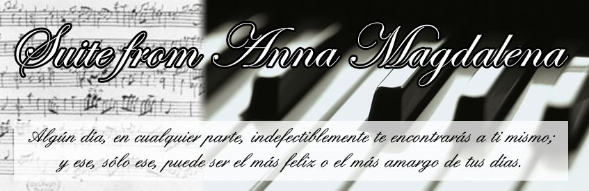 .::Suite from Anna Magdalena::.