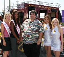 2006 Miss H.B. & Princess, Raymond & Two Laker Girls