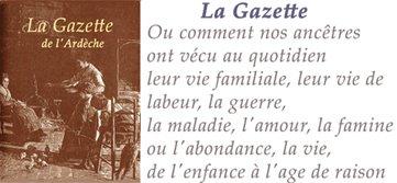 La Gazettede l'Ardèche