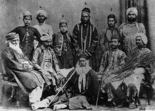 Syed Mahmud with Sir Syed