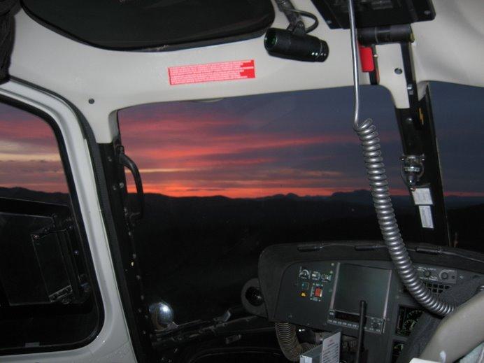 Arizona Sunset by Air