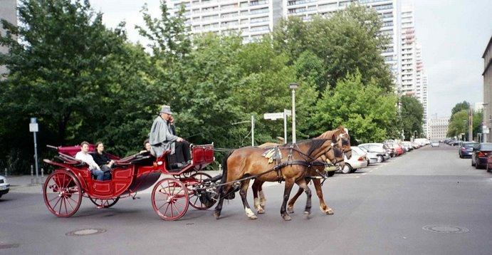 Paseo en berlina descapotada