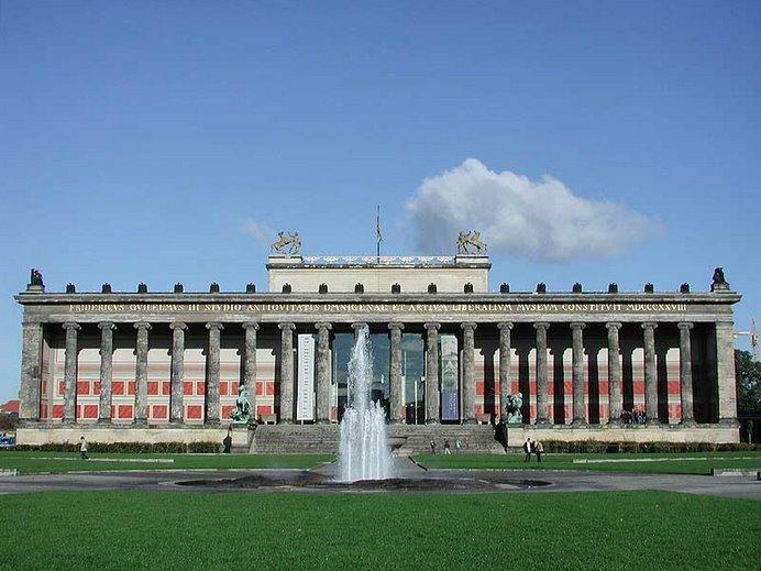 Altes Museum y Lustgarten