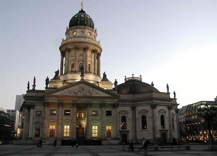 Deutsche Dom, costado sur de Gendarmenmarkt