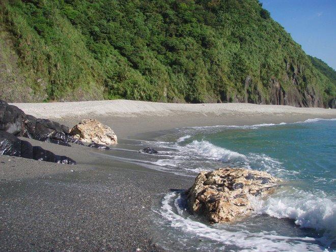 an empty beach near taipei