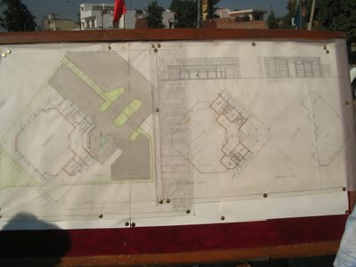 The thorough layout and plan...PUDA-Punjab Urban Development Authority, Jalandhar together with Mohinder Singh Kaypee and others lay the foundation stone of the Urban Estate, Phase-I, Jalandhar's community hall (gopal1035)