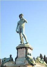 Michelangelo&#39;s David