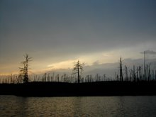 Sunset- Quetico Park
