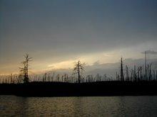 Sunset- Quetico Park