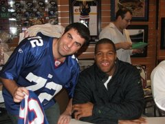 Me and Michael Strahan