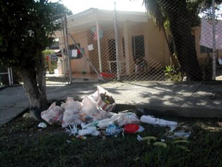 trash, La Ceiba, Honduras