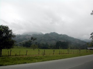 Honduran mountains