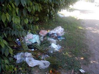 trash, La Ceiba, Honduras