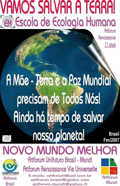 """""""Vamos Salvar a Terra"""""""