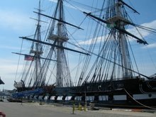 USS Constitution, Boston Harbor