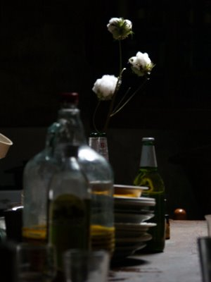 Pianbaruzzoli, tavola apparecchiata