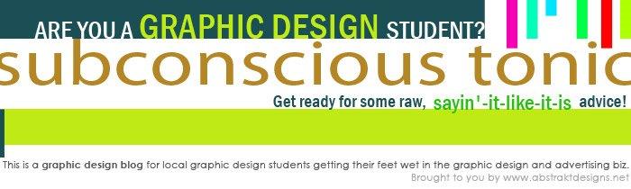 Abstrakt Designs Blog: Subconscious Tonic