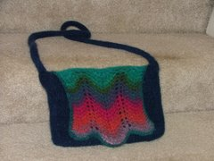 Feather and Fan Purse