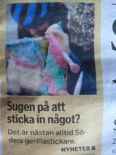 Intervju med Stickkontakt i Sdermalmsnytt nr 18 2007