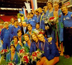 Italy - European Champion Vienna 1995