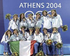 Italy - Olympic winner Women Athens 2004