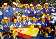 Spain - World Champion Perth 1998