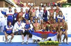 Serbia and Montenegro - European Champion, Budapest 2001