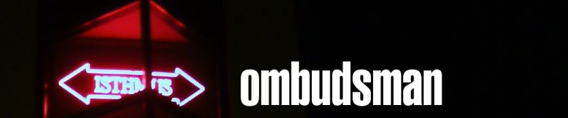 ISTHMUS OMBUDSMAN