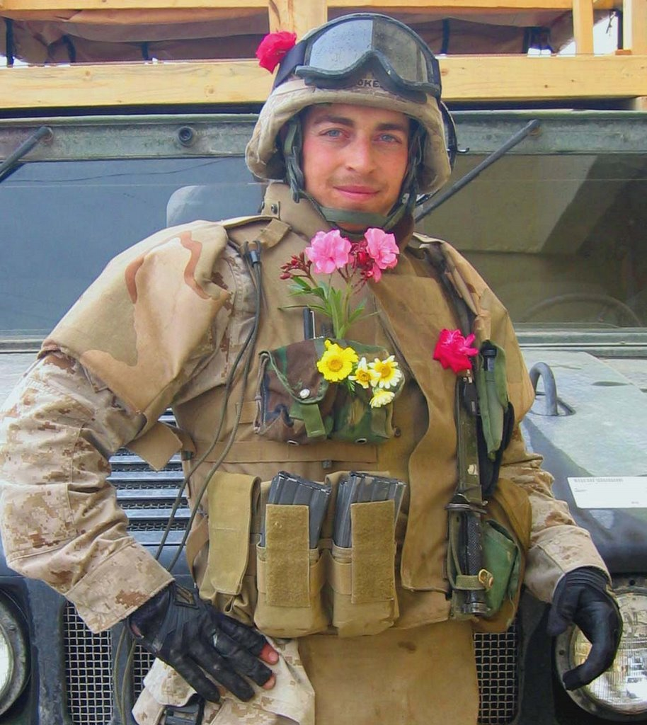 Sgt Kokesh in Fallujah