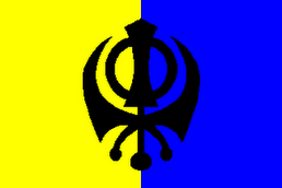 Flag of the Sovereign Republic of Khalistan