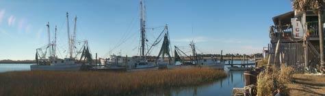 Folly Island Fishing Boats