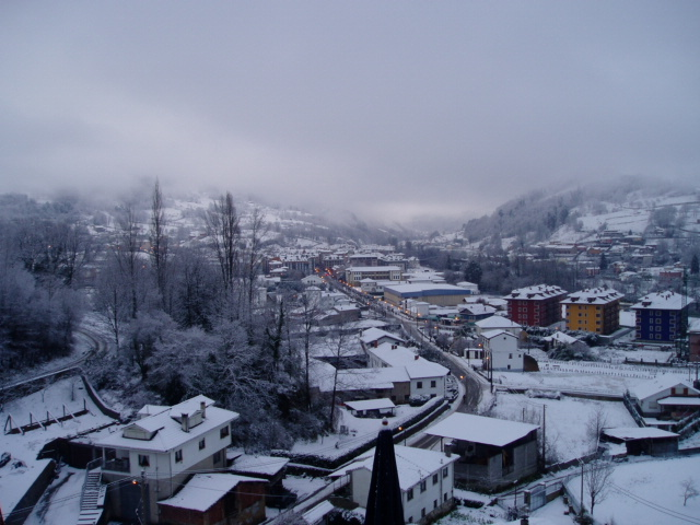 CANGAS Y LA NIEVE