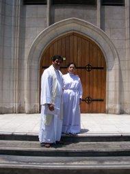 Revdo. Misael y Esposa