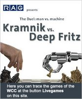 Kramnik contra Deep Fritz en ajedrez