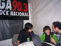 La mega 90.3 a Puro Rock Nacional