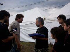 Bebe - Jose Palazos - Emilio - Martin - Agustin - camarografo