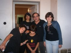 El Ciego Fernandez y su hija Gracias Ciego!!!
