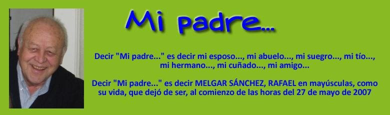 Mi padre...