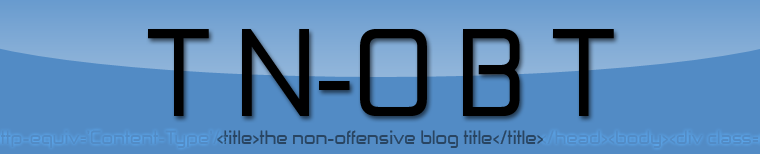 The Non-Offensive Blog Title