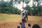 Preaching in Kenya