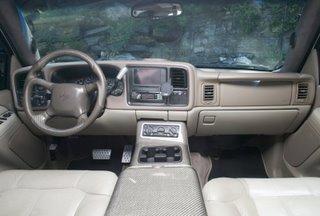 Eco-friendly 2002 Chevrolet Suburban Mad Max-style