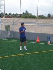 Biel Payeras, entrenador del Preferente del Atco Rafal, colaborador de lujo